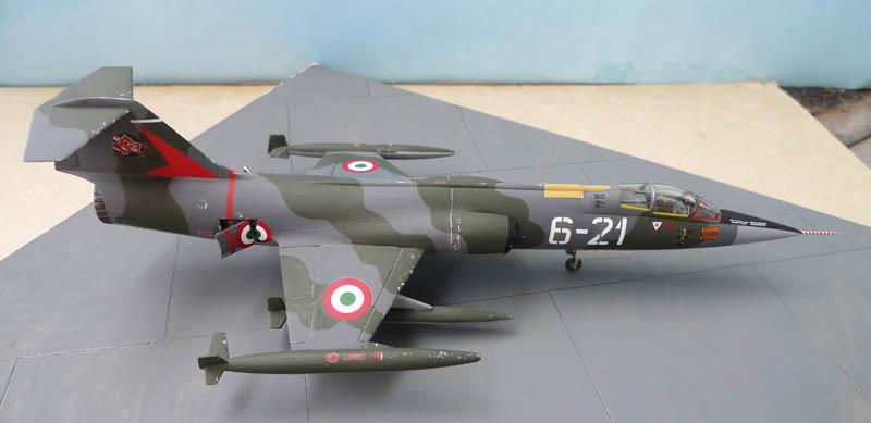 [Heller] - F 104 Starfighter à la sauce italienne. 761901F10405
