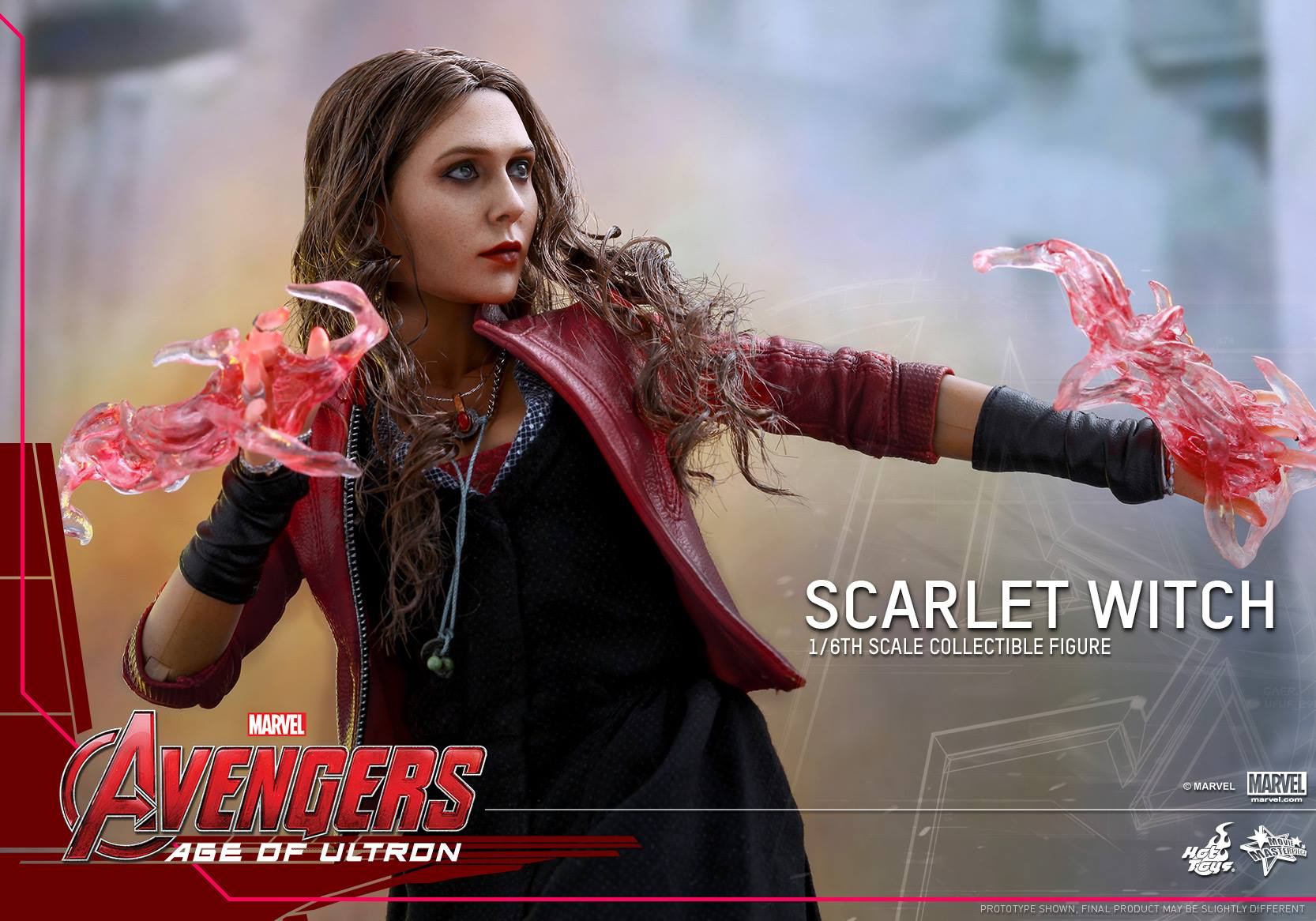 HOT TOYS - Avengers: Age of Ultron - Scarlet Witch 762745112