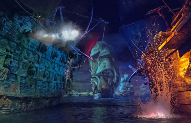 [Shanghai Disneyland] TREASURE COVE (POTC:...Sunken Treasure/Captain Jack's Stunt) - Page 8 762889w245