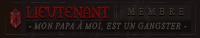 Lieutenant | Membre