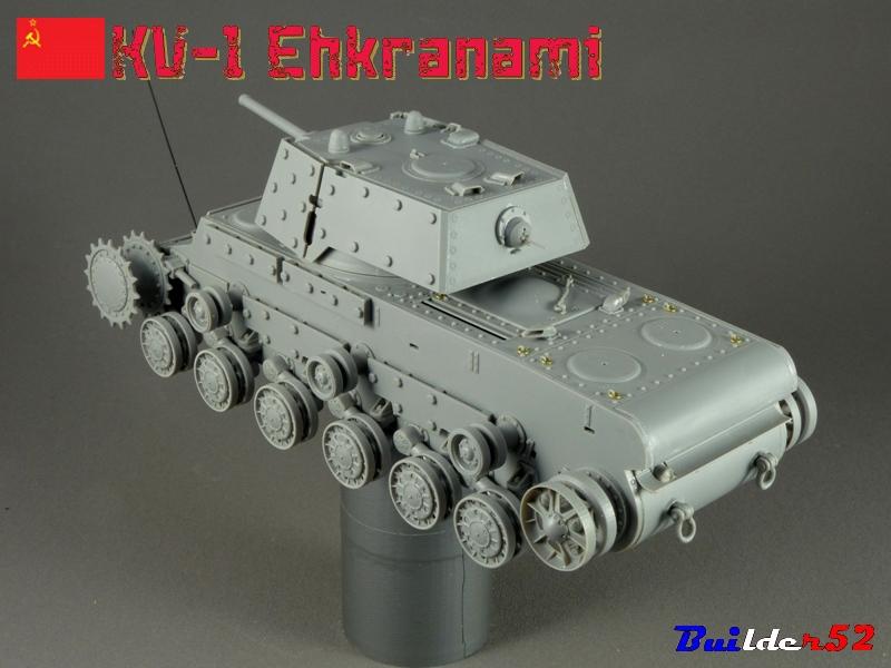 KV-1 Ehkranami  -  TRUMPETER 1/35 764175P1030099