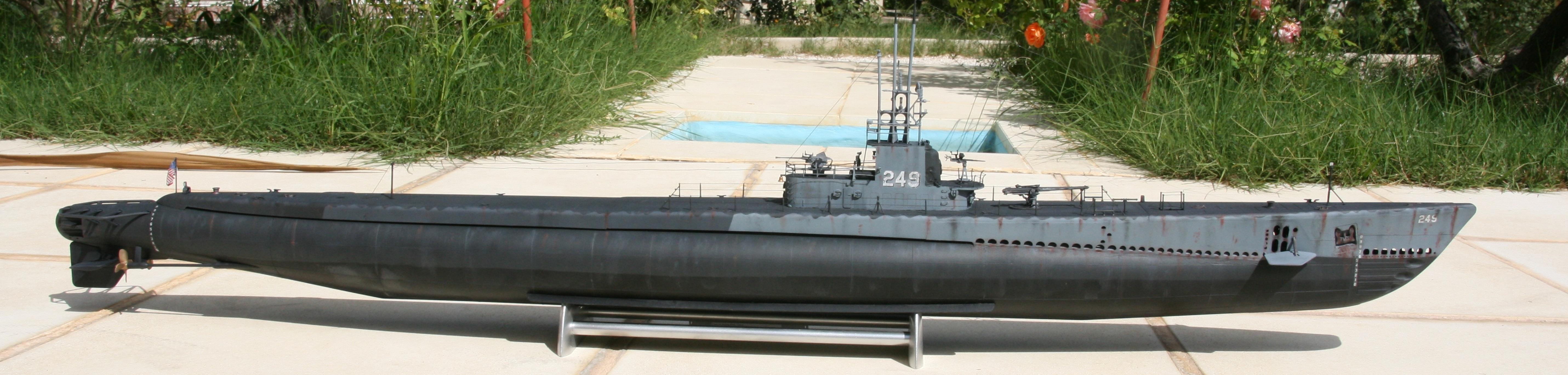 USS FLASHER, Classe Gato, 1/72° 764237IMG7850