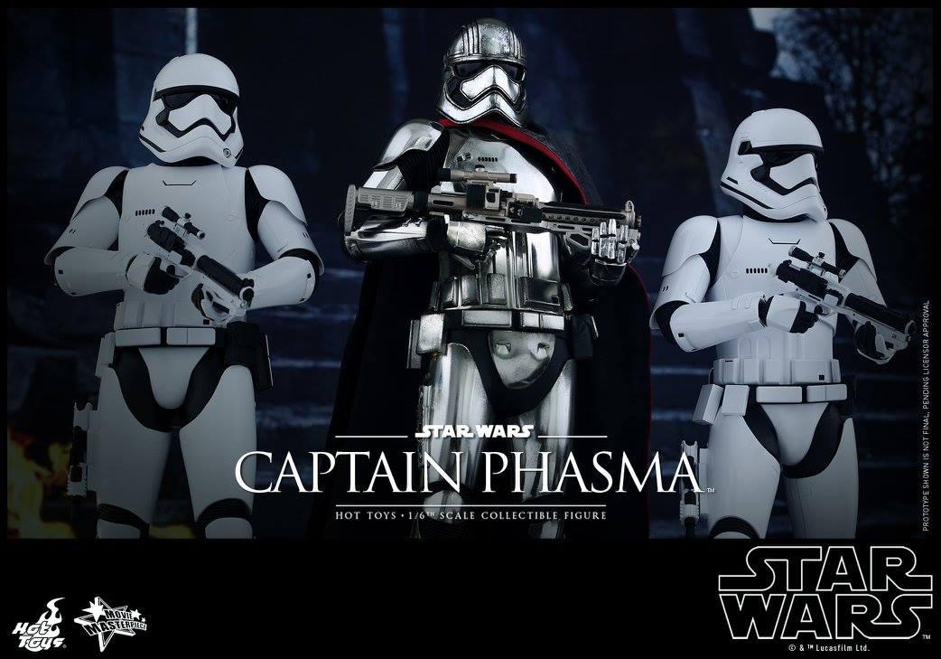 HOT TOYS - Star Wars: TFA - Captain Phasma 766822116