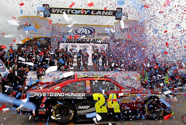 """#24 : Impala 2010-2012 J. Gordon """"Drive for hunger"""" 7671302011AdvoCare500Gordon"""