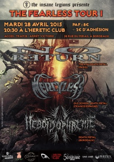 PROG AVRIL 2015 @ HERETIC CLUB, Bordeaux 768080THEFEARLESS280415