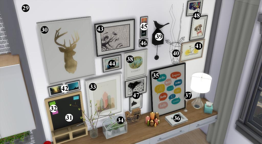 Appartement scandinave (let's build et téléchargement) 77015011en1024avecnumros