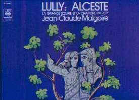 Jean-Baptiste Lully 770206AlcesteMalgoire