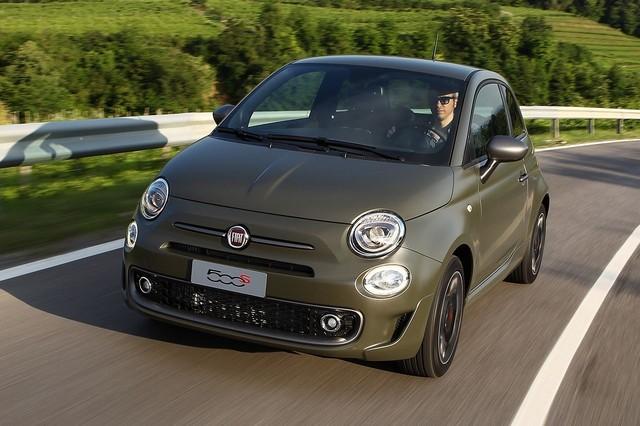 Gamme et tarifs de la nouvelle Fiat 500S 770320160607Fiat500Sok01