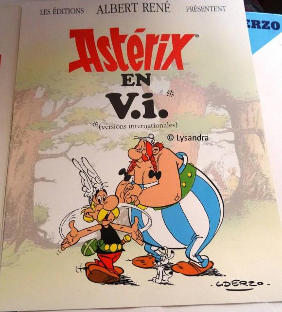 Dossier presse Astérix en langues étrangères 770523DP6