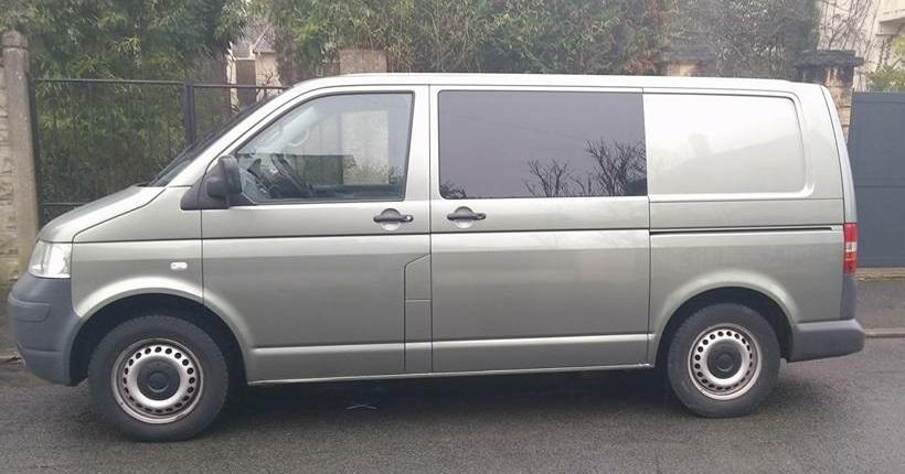 T5 2.5 130, 170 Mkm, cab appro, 5 places indépendantes, 2009 BVM 770796014