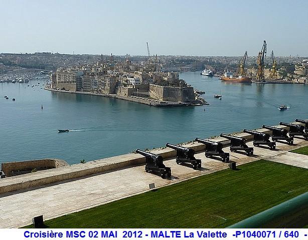 MSC Splendida Du 28 avril au 5 mai 2012 Gêne Barcelone Tunis La valette Taormine Messine Rome 773147P1040071