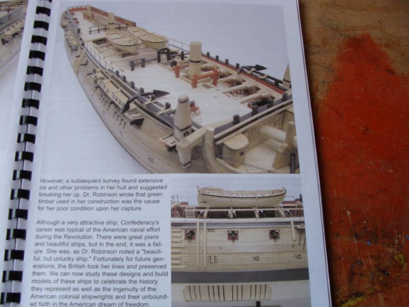 "US  Frigate CONFEDERACY 1778  de Model Shipways  au3/16"" 774579DSC01868"