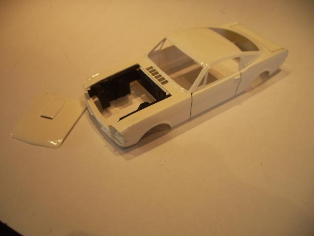 mustang shelby 350 GT 1965  kit monogram 1/24 . 774840IMGP3041