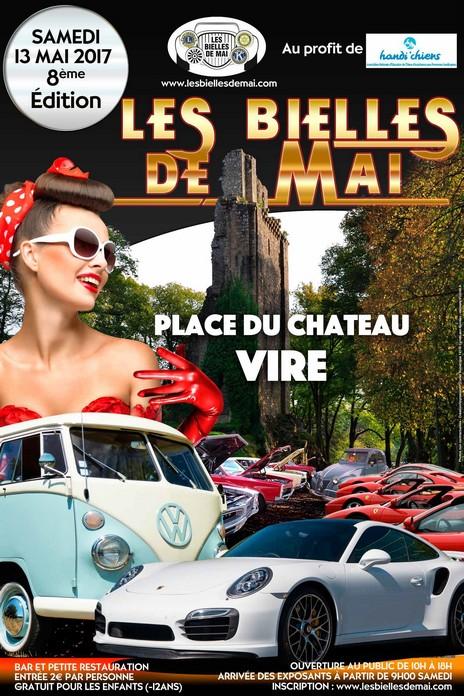 Les Bielles de Mai : Samedi 13 mai 2017 Place Du Chateau Vire 14500 775134lesbiellesdemai2017