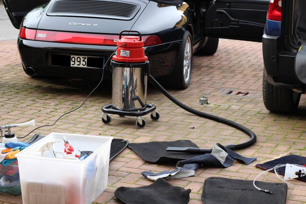 PORSCHE 993 Cabrio - Preparazione interna/esterna 77618291