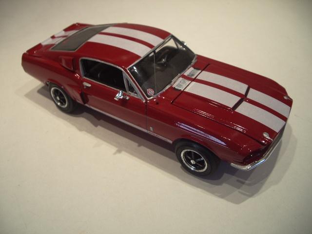 mustang shelby 350 GT 1967  au 1/25 de chez AMT/ERTL  776575IMGP1044