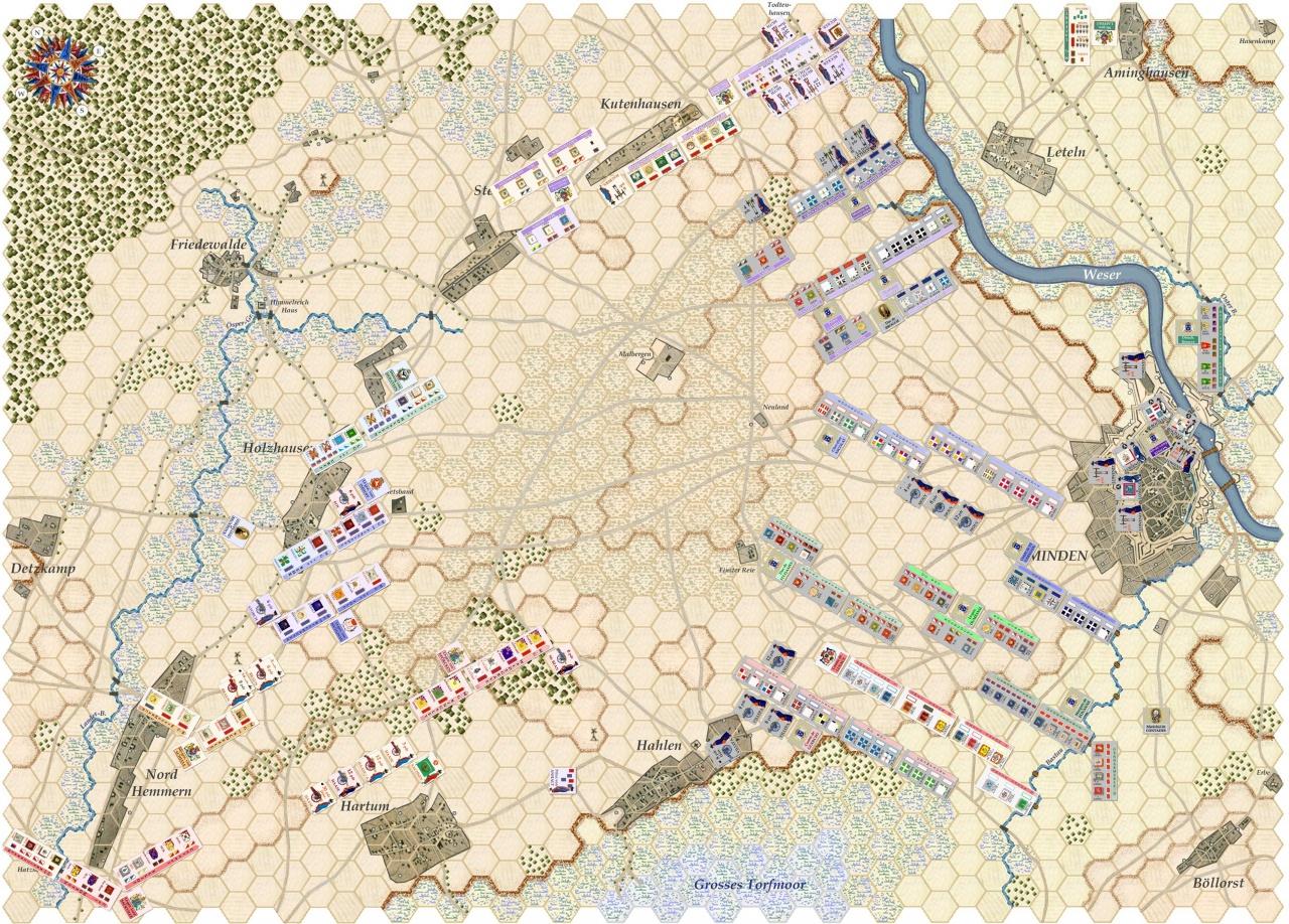 Nouveau Jeu : Bataille de Minden - Page 9 776622Situation0400