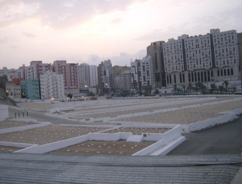 مكة المكرمة : مقبرة الحجون حيث قبر أم المومنين خديجة رضي الله عنها 776806HPIM1963