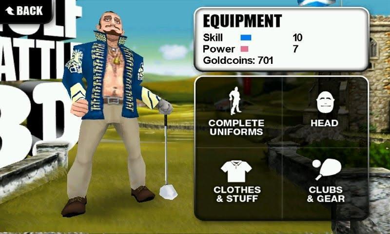 [JEU] GOLF BATTLE 3D: Jeu de golf très bien fait [Payant] 7769775