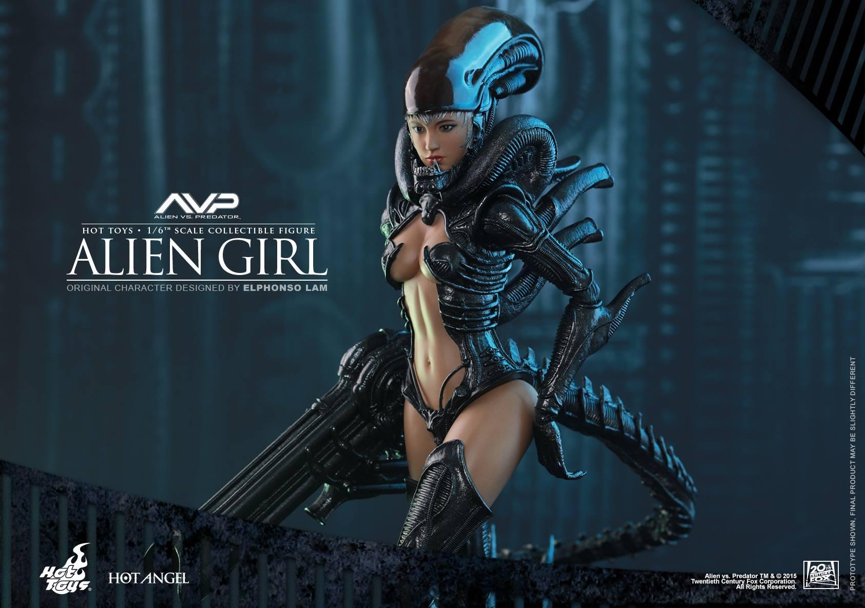 HOT TOYS - AVP - Alien Girl 777701113