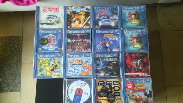 [Vends] Dreamcast+manette+14jeux+5 vmu 779723IMG20150310114750