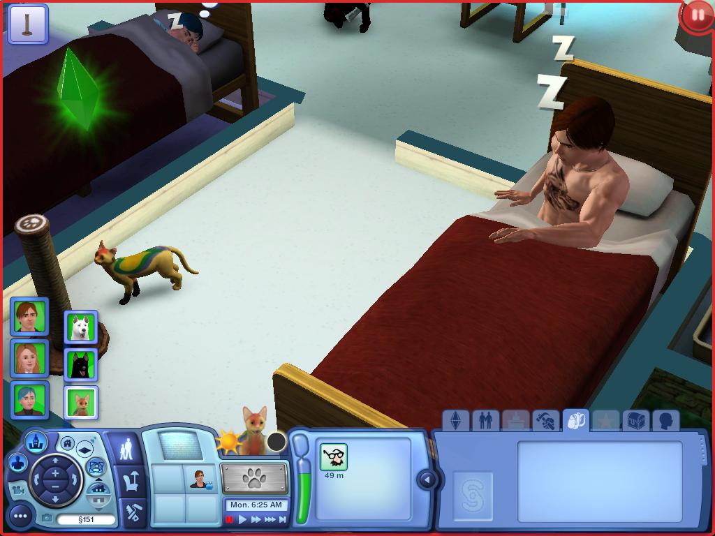 Les Sims ... Avec Kimy ! 780974StansefaitrveillerparkedattetilestpascontentxD