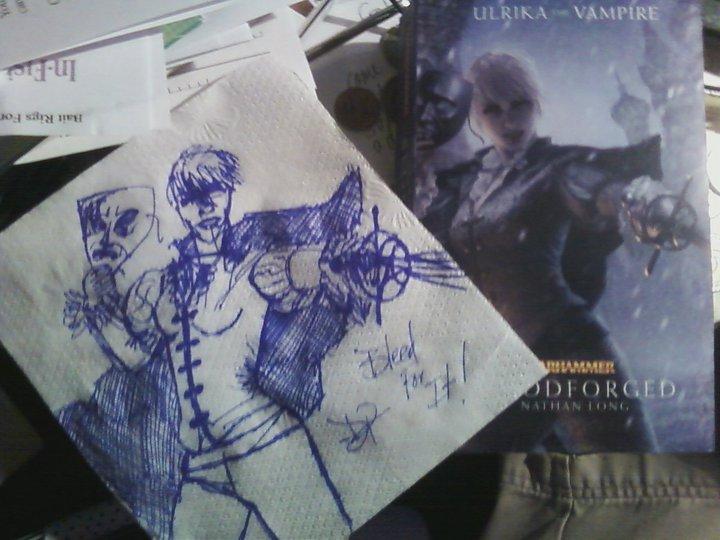 Trilogie Ulrika la Vampire : Bloodborn / Bloodforged / Bloodsworn de Nathan Long - Page 2 781020Nathan2