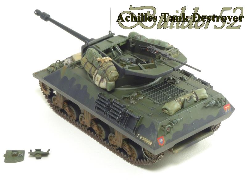 Achilles Tank Destroyer - Academy-Italeri + RB Model + set Blast 1/35 781365P1040527