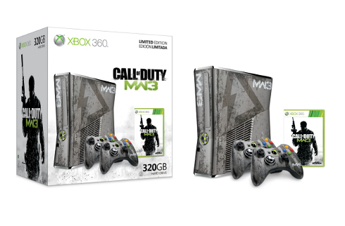 Une Xbox 360 Call Of Duty Modern Warfare 3 en édition limitée  781762mw3xbox360bundle