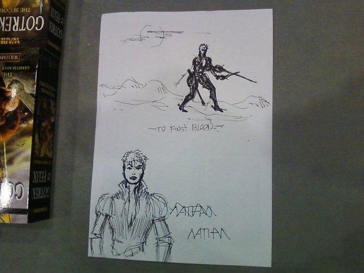 Trilogie Ulrika la Vampire : Bloodborn / Bloodforged / Bloodsworn de Nathan Long - Page 2 784081Nathan4