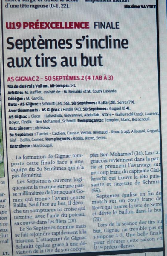 AS GIGNAC LA NERTHE //  DHR MEDITERRANEE  PROVENCE  - Page 2 785515P1170894