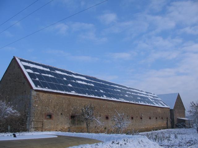 stockage et panneau solaire photovoltaique  785762IMG3417