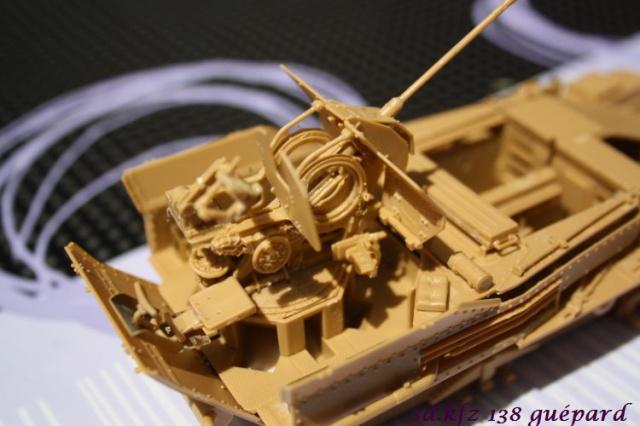 sd.kfz 140 flakpanzer (gépard) maquette Tristar 1/35 786261IMG1620