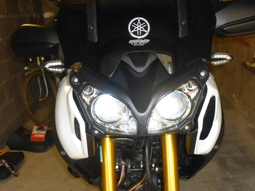 Montage clignotants led Yamaha 786606P10204092