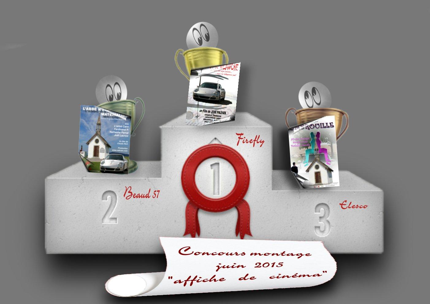 """Concours montage juin 2015 """"AFFICHE de CINÉMA"""" (terminé) 786619podiumphotojuin"""