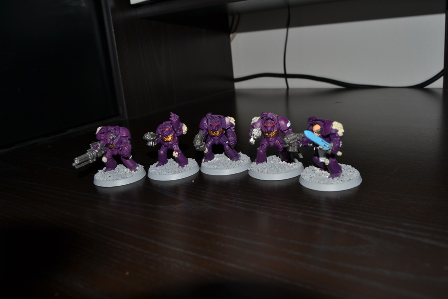 Les Purple Knight 786673WH40K020