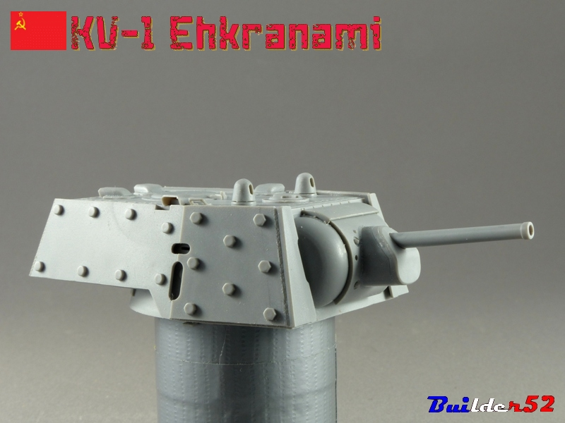 KV-1 Ehkranami  -  TRUMPETER 1/35 788035P1030086