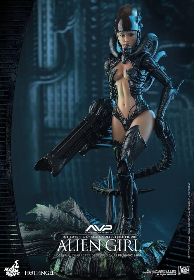 HOT TOYS - AVP - Alien Girl 789985101