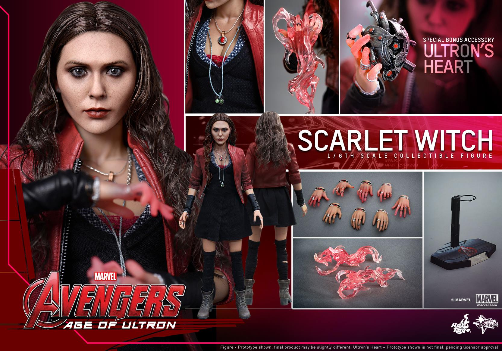 HOT TOYS - Avengers: Age of Ultron - Scarlet Witch 790566114