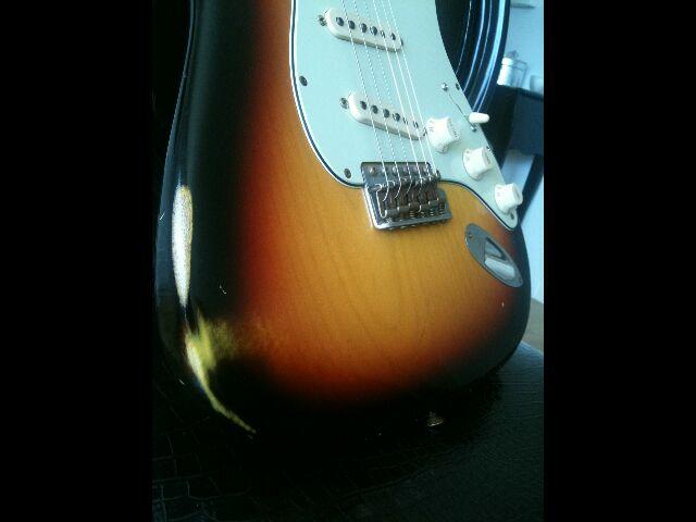 Fender Custom Shop Stratocaster 60' relic 790643Strattabledtail