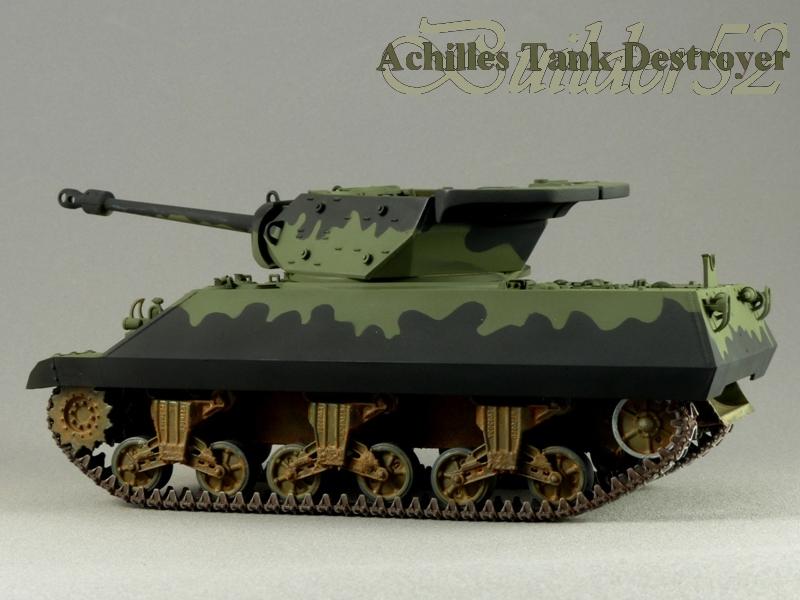 Achilles Tank Destroyer - Academy-Italeri + RB Model + set Blast 1/35 791066P1030814