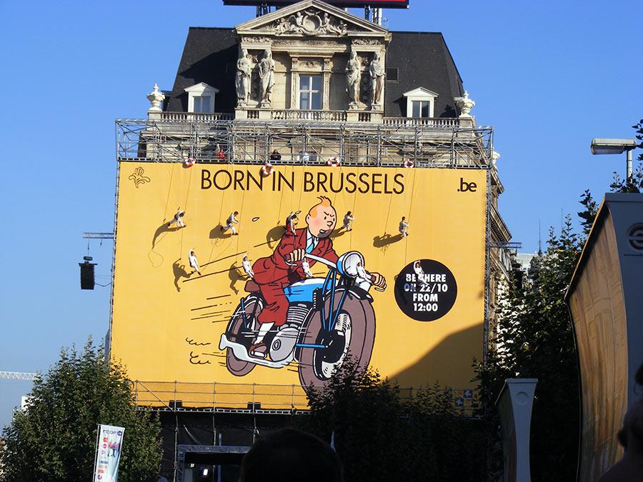 """Bruxelles côté BD  """"Tintin en automobile"""" - Page 2 791251DSCF6225"""