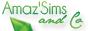 Bouton Amaz'Sims