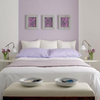 Stunning Deco Chambre Parme Et Blanc Images   House Design .