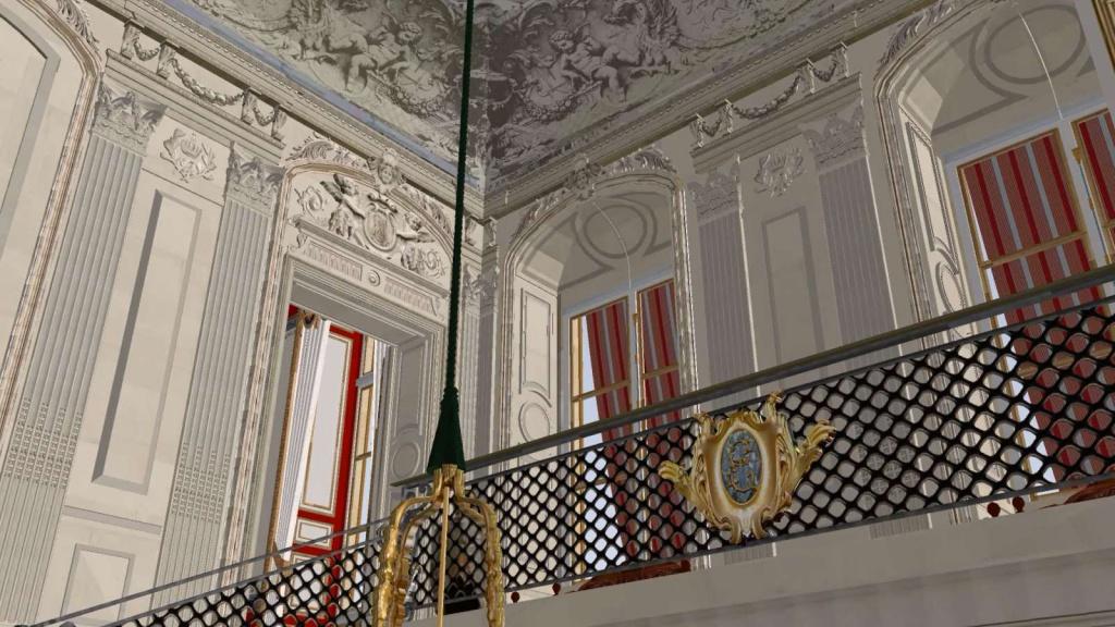 Reconstitution virtuelle du Palais des Tuileries, états Premier Empire et Second Empire - Page 2 7958073escalierdelimpratricepaliersuprieur