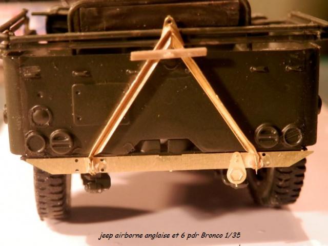 6 pdr ,jeep ,équipage airborne Bronco 1/35 (sur la route de Ouistreham) 796493P5030425