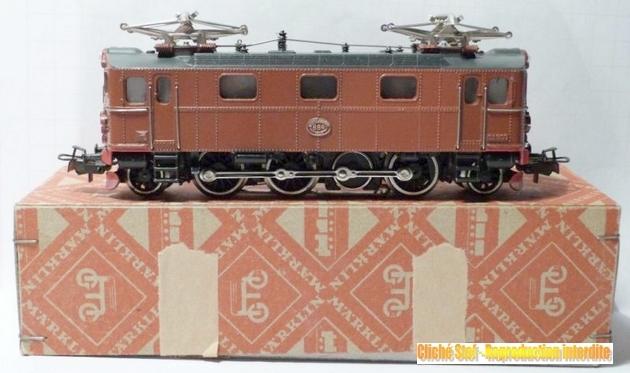 Les machines D/Da/Dm/Dm3 (base 1C1) des chemins de fer suèdois (SJ) 797347Mrklin3018ELokderSJBaureiheDabraunR