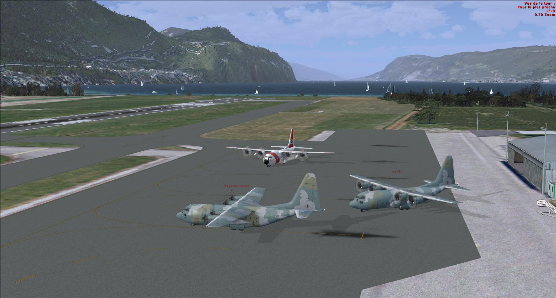 Compte rendu vol réseau en c130 captain sim 7986622014113143449436