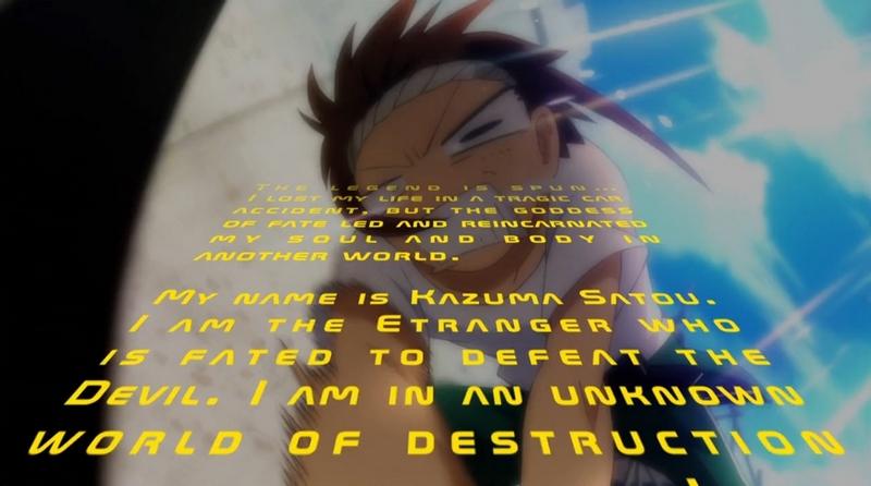 [2.0] Caméos et clins d'oeil dans les anime et mangas!  - Page 9 798714KonoSubarashii20101
