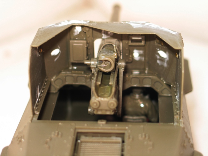 canon automoteur type 1 Ho-Ni Tamiya 1/35 798971modles106002